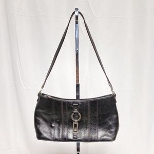 "Etienne Aigner ""Vienna"" Leather Shoulder Bag"